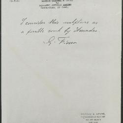 Image for KSF05 - Expert opinion by Fiocco, circa 1930s-1940s