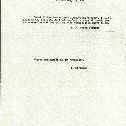 Image for K0099 - Expert opinion by Berenson et al., circa 1920s-1950s