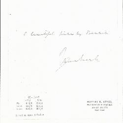 Image for K0091 - Expert opinion by Marle, circa 1920s-1930s