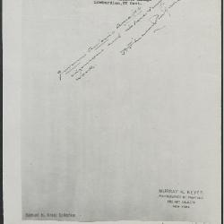 Image for KSF05 - Expert opinion by Perkins, circa 1920s-1940s
