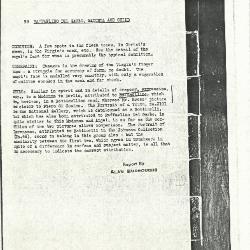 Image for K0099 - Alan Burroughs report, circa 1930s-1940s
