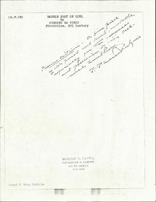 Image for KSF05E - Expert opinion by Perkins, circa 1920s-1940s