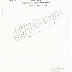Image for KSF05D - Expert opinion by Perkins, circa 1920s-1940s