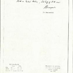 Image for KSF05I - Expert opinion by Swarzenski, circa 1940s
