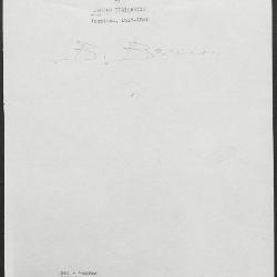 Image for K0341 - Expert opinion by Berenson, circa 1920s-1950s
