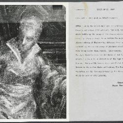 Image for K0341 - Alan Burroughs report, circa 1930s-1940s