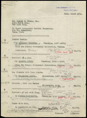 Image for Contini Bonacossi, Alessandro, March 4, 1932[2]