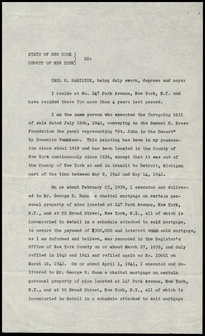 Image for Hamilton, Carl W., July 16, 1942