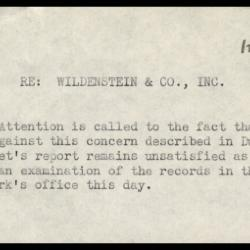 Image for Other documentation - Wildenstein and Company, 1942-1954
