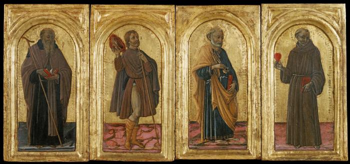 Image for Saints Anthony Abbot, Roch, Peter and Anthony of Padua