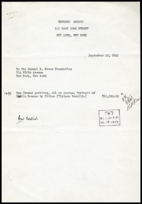 Image for Arnaud, Edouard, September 22, 1941