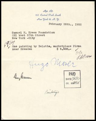 Image for Moser, Hugo, February 28, 1952