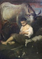Image for Young Cowherd with Cows