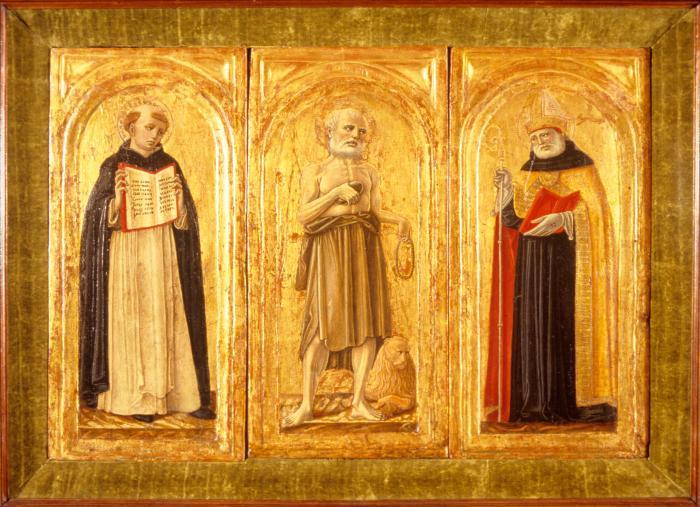 Image for Saints Augustine, Jerome and Albertus Magnus