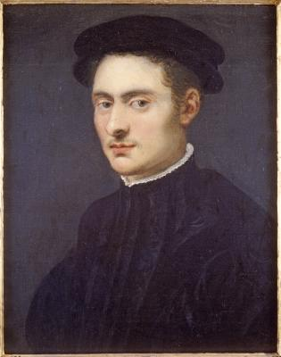 Image for Bust Portrait of a Young Man in Black