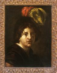 Image for Portrait of a Man with a Feathered Hat