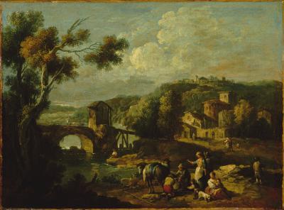 Image for Landscape with Bridge