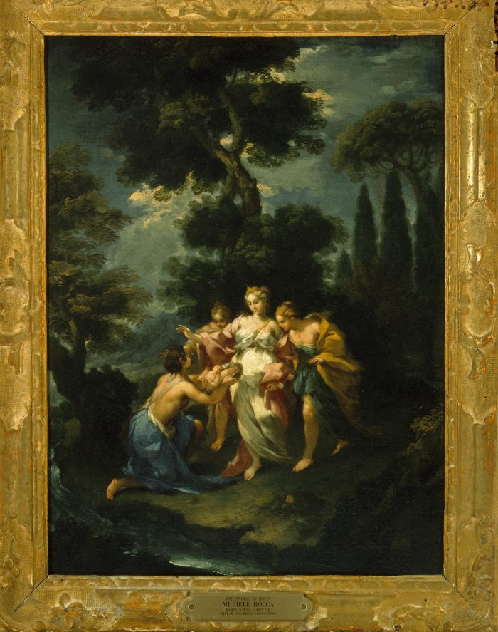 Image for The Finding of the Infant Moses