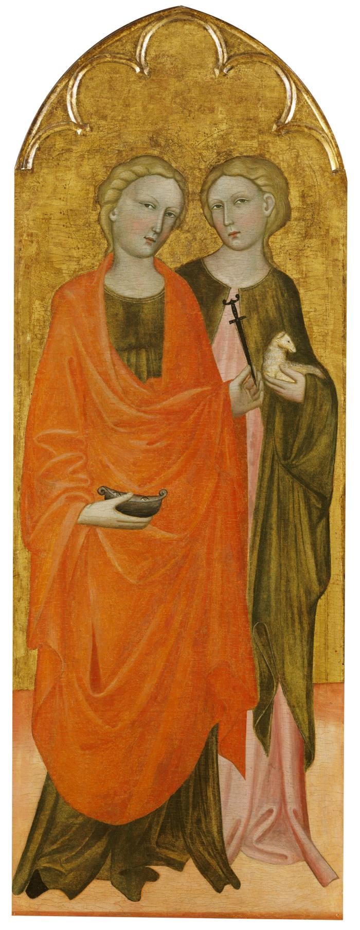 Image for Saints Lucy and Agnes