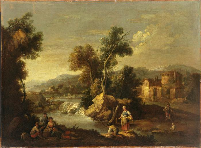 Image for Landscape with Waterfall
