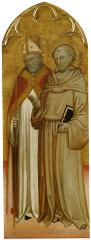 Image for Bishop Saint and Saint Francis of Assisi