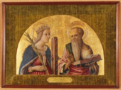 Image for Saint Catherine of Alexandria and Saint Jerome