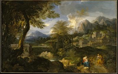 Image for The Rest on the Flight into Egypt