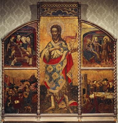 Image for Saint John the Baptist Altarpiece