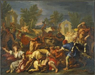 Image for The Battle of the Lapiths and Centaurs