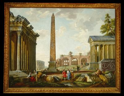 Image for Imaginary Landscape with Roman Ruins