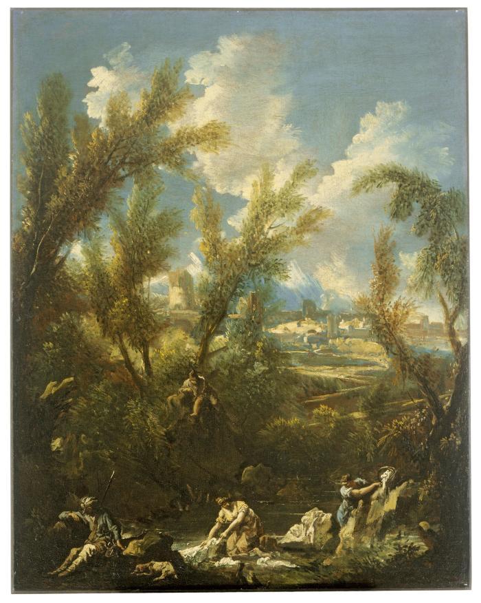 Image for Landscape with Washerwomen