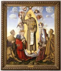 Image for Saint Francis in Glory