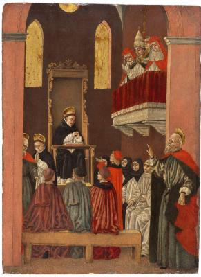 Image for Scene from the Life of Saint Thomas Aquinas: The Vision of Fra Paolino