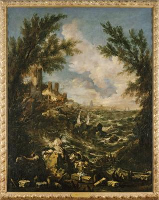 Image for Seacoast View with a Shipwreck