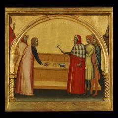 Image for Saint John the Evangelist Reproving the Philosopher Crato