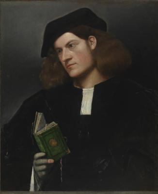 Image for Portrait of a Man with a Green Book