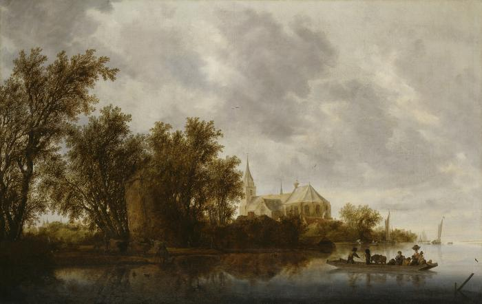 Image for Landscape with a Ferry