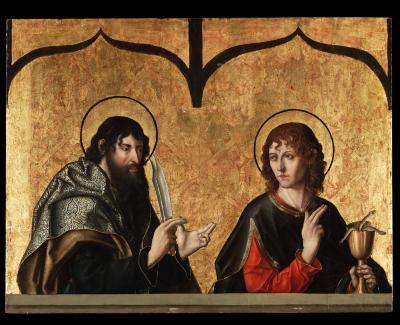 Image for Saints Bartholomew and John the Evangelist