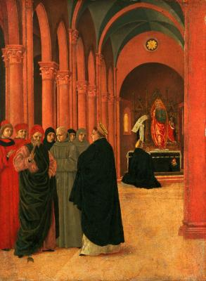 Image for Scene from the Life of Saint Thomas Aquinas: The Debate with the Heretic