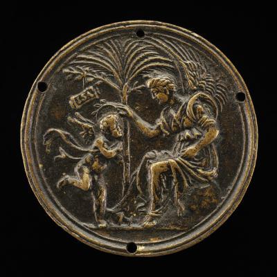 Image for An Allegorical Scene (Fame Crowning Eros)