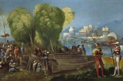 Image for Aeneas and Achates on the Libyan Coast