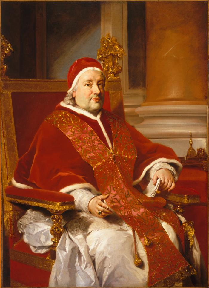 Image for Portrait of Pope Clement XIII
