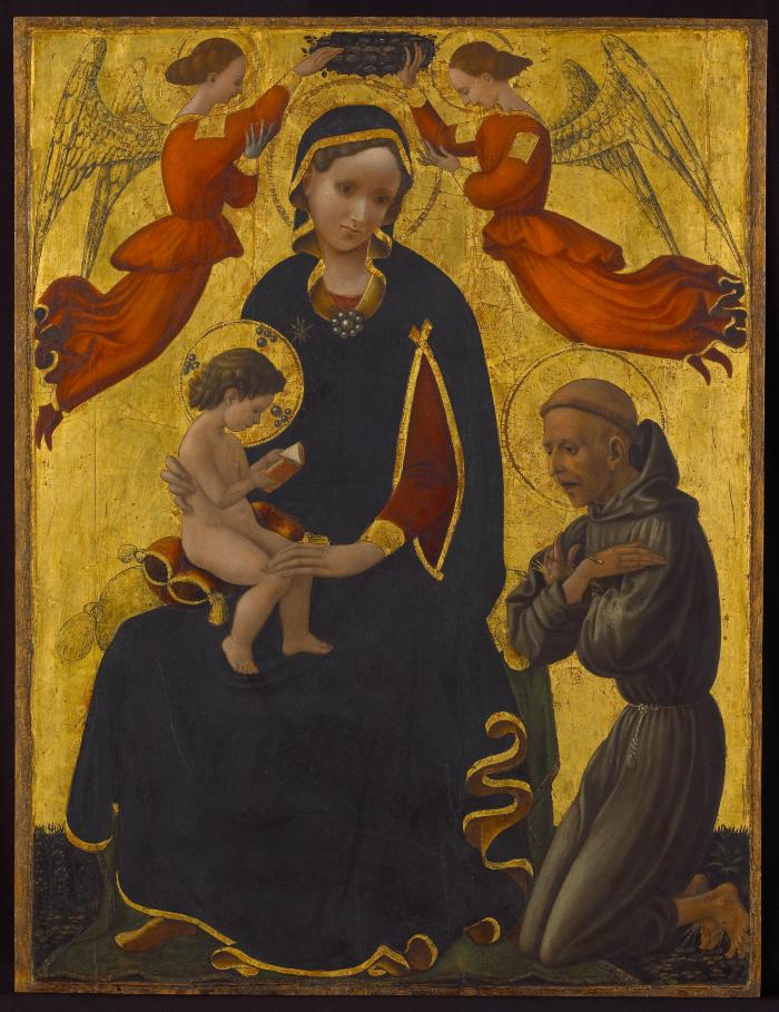 Image for Madonna and Child with Saint Francis