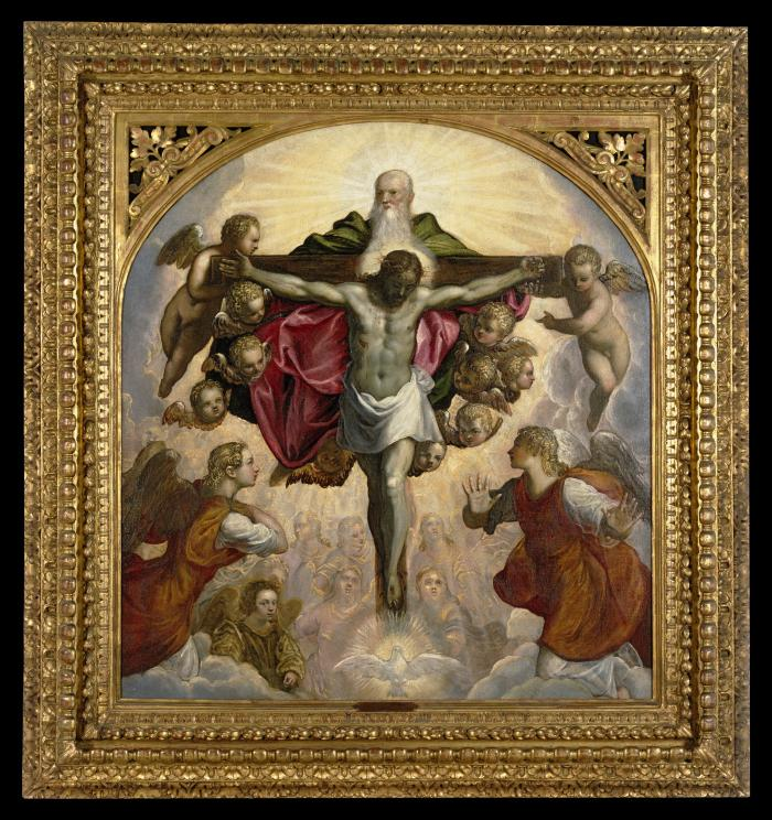 Image for The Trinity Adored by the Heavenly Choir