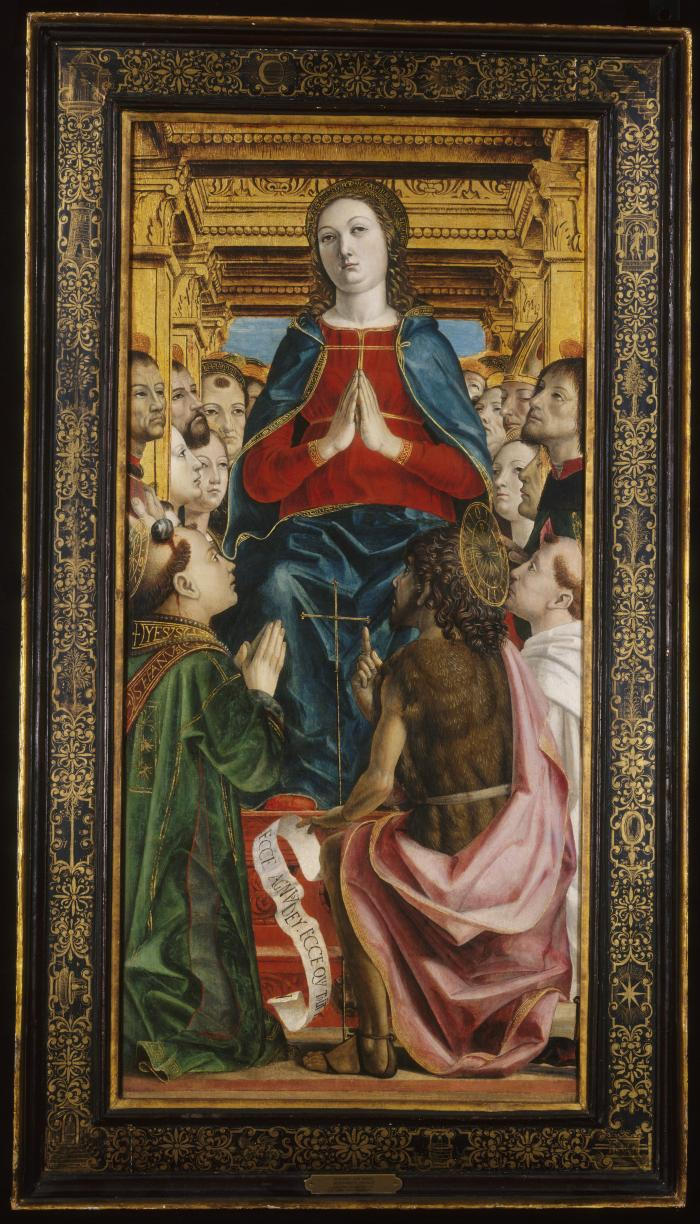 Image for Madonna and Saints