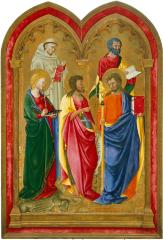 Image for Altar Wing with Five Saints