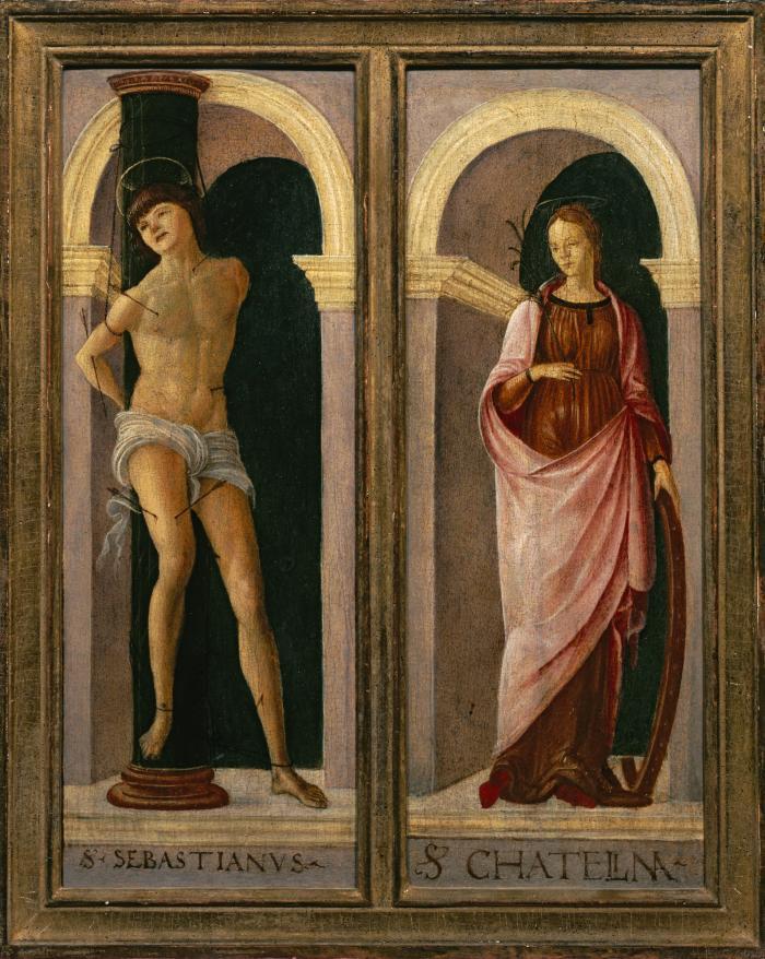 Image for Saint Sebastian, Saint Catherine of Alexandria