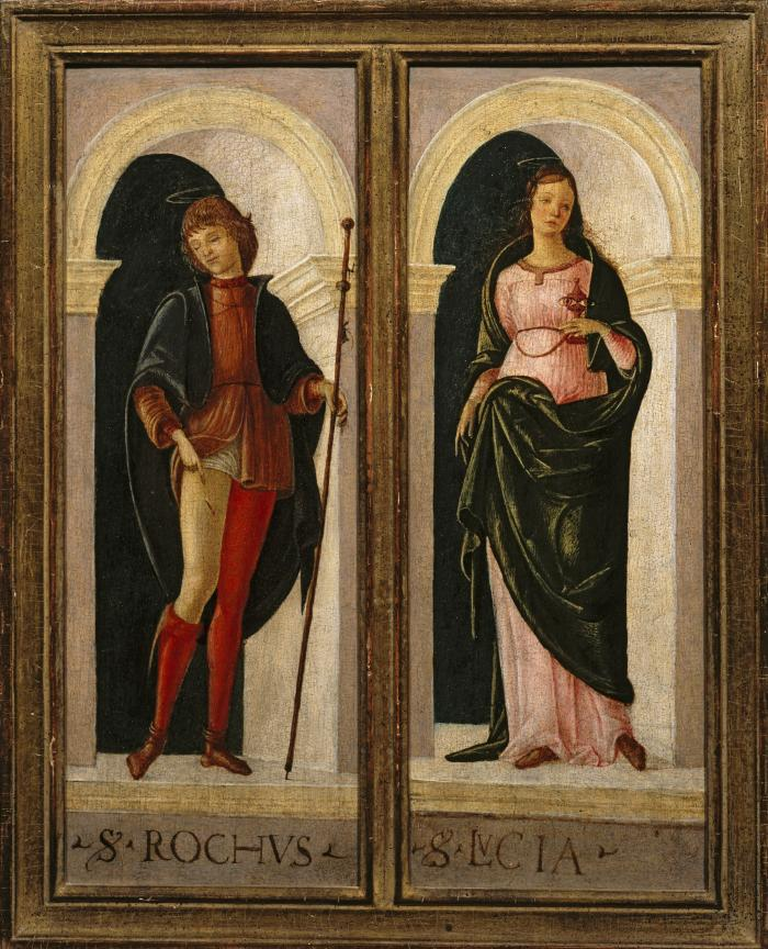 Image for Saint Roch, Saint Lucy