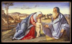 Image for Madonna and Child with Saint Jerome