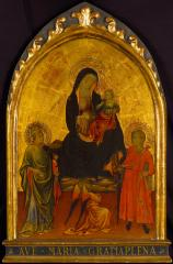 Image for Madonna and Child with Saints Clement and Julian